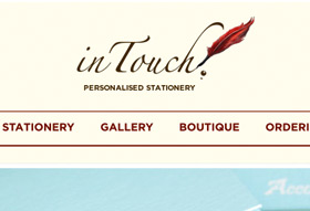 InTouch Stationery